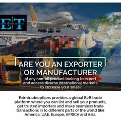 Eximtradeoptions - The Best B2B Portals to Bring Together Vendors and Suppliers