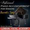 Barrett's Song ('Titanic' Piano Accompaniment) [Professional Karaoke Backing Track]