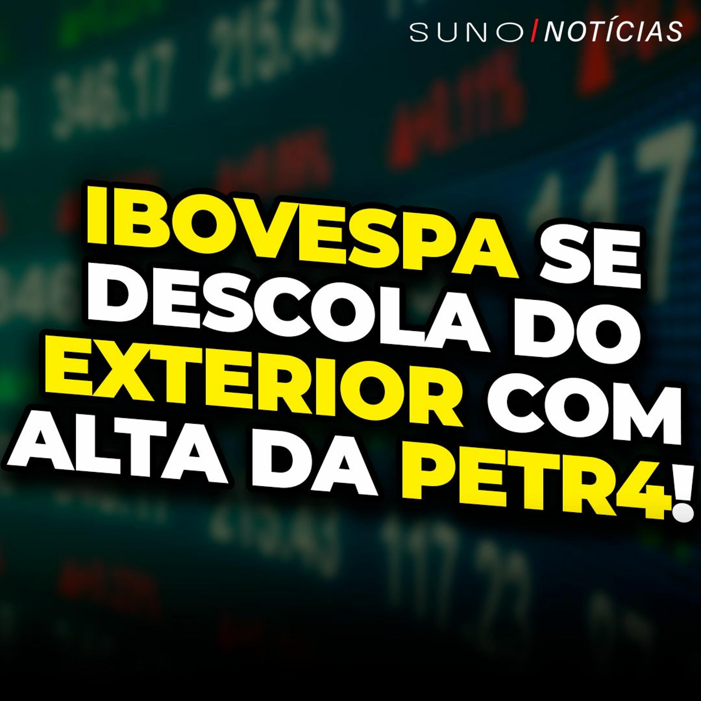 Petrobras (PETR4) sobe e ajuda Ibov a se descolar do exterior   Vale (VALE3) e CSN (CSNA3) tombam!
