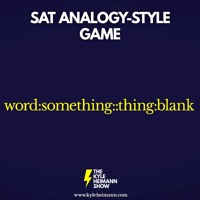 SAT Analogy-Style Game