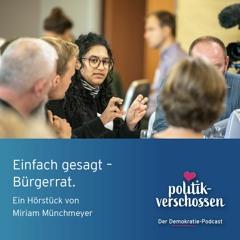 Einfach gesagt - Bürgerrat Ein Hörstück von Miriam Münchmeyer