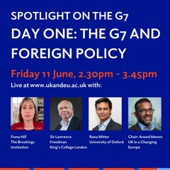 Spotlight on the G7: The G7 and foreign policy