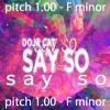 Say So (Feat. Doja Cat & Nicki Minaj) [Chill Say So Trap Rock Song] (pitch 1.00 - F minor)