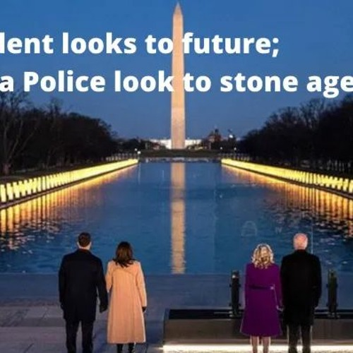 46th President looks to future; Wauwatosa Police look to stone age