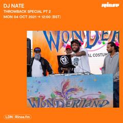 DJ Nate - Throwback Special PT2 - 04 October 2021
