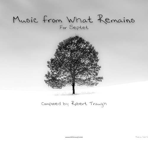 """""""Music From What Remains"""" for Septet - Mockup"""