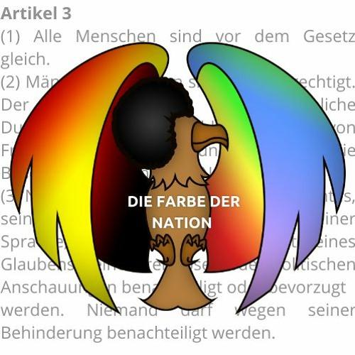 Die Farbe der Nation geht wählen ... für den Bundestag!