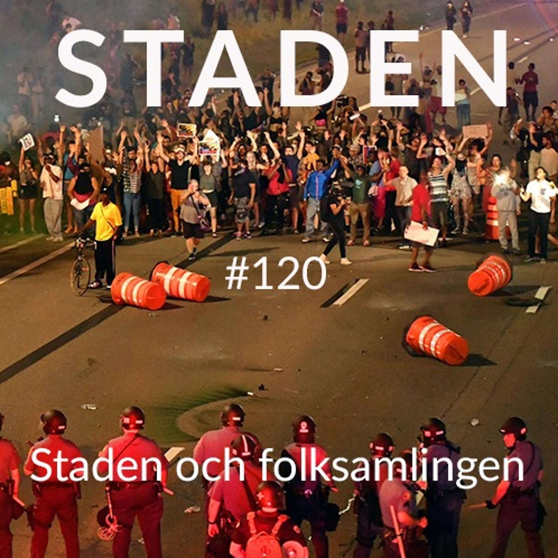 # 120 Staden och folksamlingen