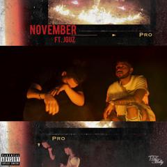 November (ft. J Guz)