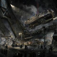 Underground steam Train