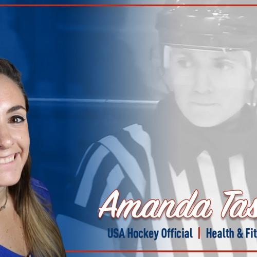 USA Hockey Ref and Fitness Expert Amanda Tassoni