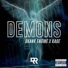 Skank Engine X Kage - Demons [LIMITED FREE DOWNLOAD]