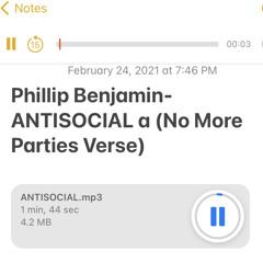 ANTISOCIAL - COI LERAY NO MORE PARTIES (Freestyle)