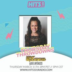 Hits 101 Radio Thursday Throwdowns Ep. 010