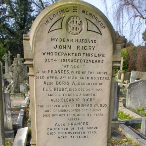 We've got a real Eleanor Rigby situation.
