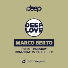 Marco Berto - Deep Love Session - radiodeep.net