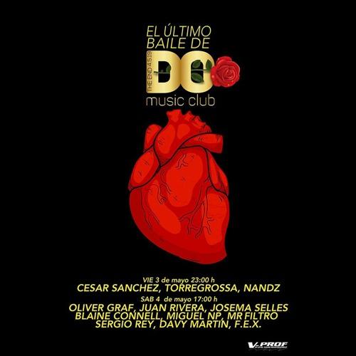 Mr Filtro - DO Music Club 'El Ultimo Baile' (04-05-2019)