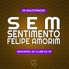 Sem Sentimento - Felipe Amorim - Playback e VS Sertanejo