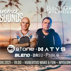 Matys b2b Cj Stone @ Summer Sounds pres. @ Hubertus Mysłowice (26.6.2021) - seciki.pl