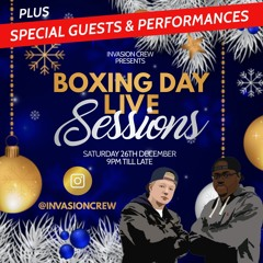 Pure Vibes Ent & Invasion Crew - Live ON IG - LIVE Sessions Boxing Day 26.12.2020