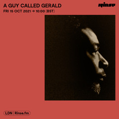 A Guy Called Gerald - 15 October 2021