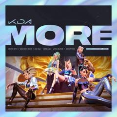 K/DA - MORE (feat. Madison Beer, (G)I-DLE, Lexie Liu, Jaira Burns, Seraphine)