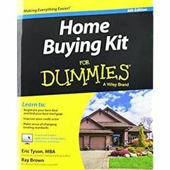 [read ebook] Home Buying Kit For Dummies ZIP