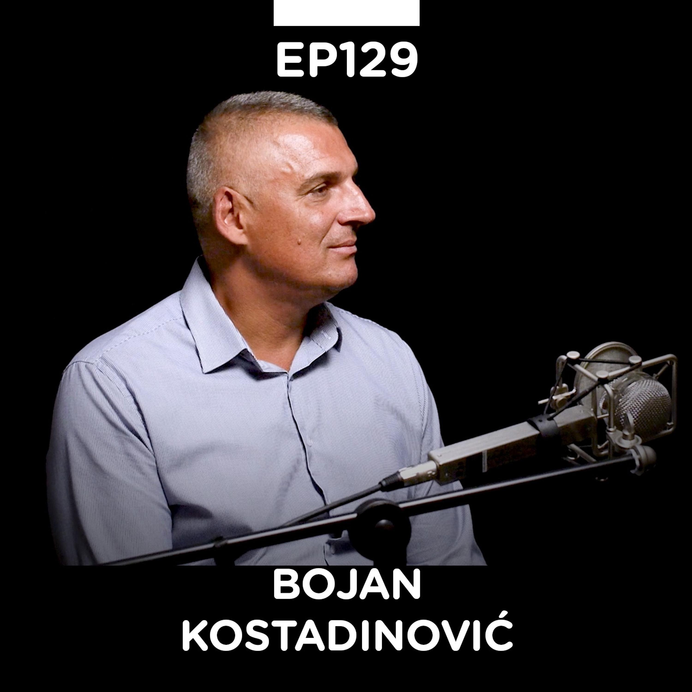 EP 129: Bojan Kostandinović, bivši odbojkaš, Implementacija znanja - Pojačalo podcast