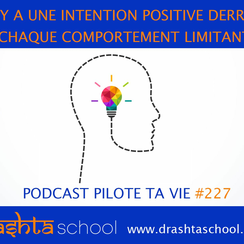 #227 IL Y A UNE INTENTION POSITIVE DERRIERE CHAQUE COMPORTEMENT LIMITANT