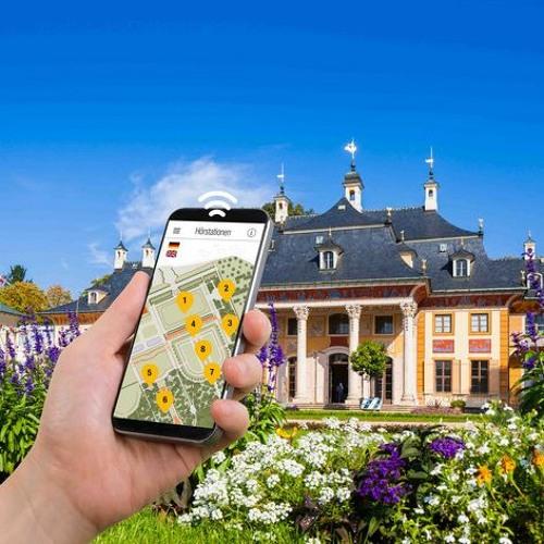 Smartphone-Audioguides | Schloss & Park Pillnitz | Tritonengondel