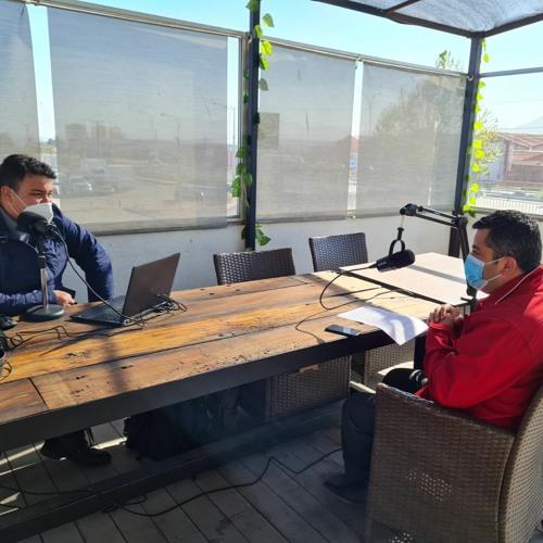 Podcast Escases Hídrica - Seremi De Gobierno Ignacio Pinto