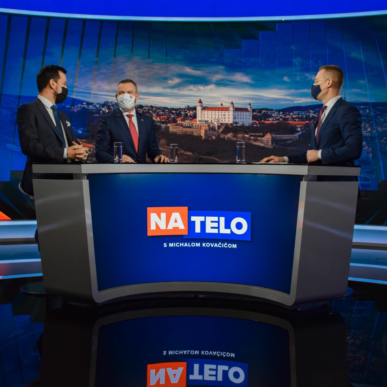 Juraj Šeliga (Za ľudí) a Peter Pellegrini (Hlas-SD)