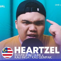 Heartzel - Bounce With Me X Kau Ingat Kau Gempak (SFF Remix)