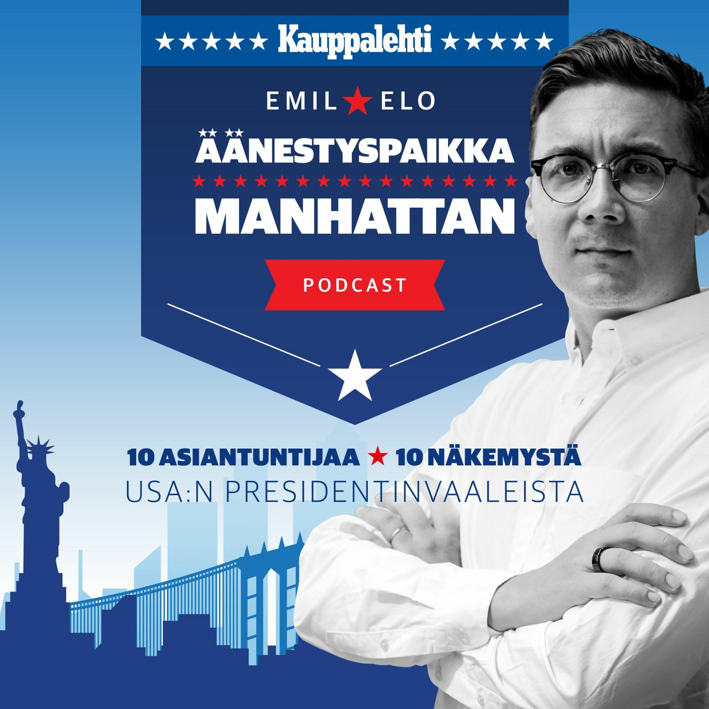 Äänestyspaikka Manhattan, jakso 10: Harri Hursti