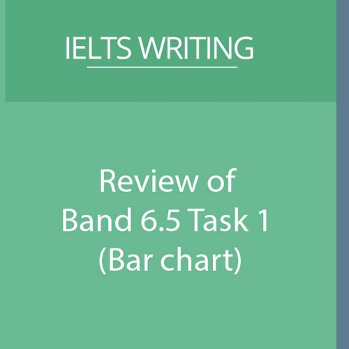 Review of Band 6.5 Task 1 Essay