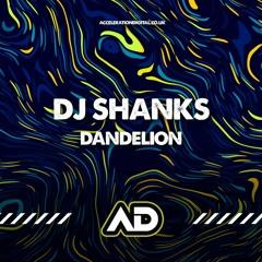 Shanks - Dandelion OUT NOW ON WWW.ACCELERATIONDIGITAL.CO.UK