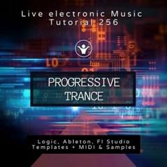Progressive Trance Template for Logic ProX