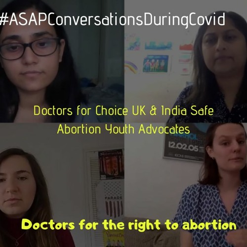 'Doctors For The Right To Abortion' With Doctors For Choice UK & India Safe Abortion Youth Advocates