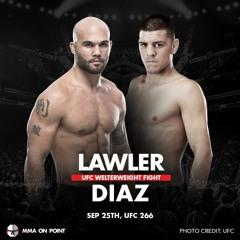 Diaz vs Lawler 2: UFC 266 Countdown | #UFC266 #UFC
