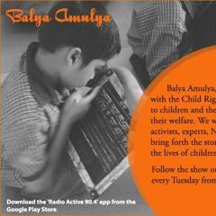 Balya Amulya - Role Of Parents When School Reopens On July 1st With Nagasimha G Rao - RJ Vijaya