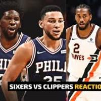SIXERS VS CLIPPERS LIVESTREAM REACTIONS | 76ERS VS LA CLIPPERS |  PHILLIES VS CARDINALS REACTIONS