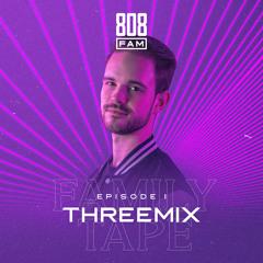 808 FAMILY TAPE - #001 Threemix