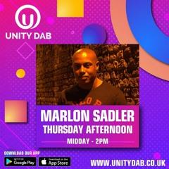 18-03-21 - MARLON SADLER Unity DAB Radio   (Weekly Show)