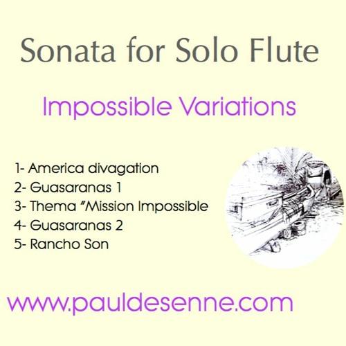 Sonata for Solo Flute - Paul Desenne - Impossible Variations - Demo