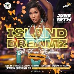 ISLAND DREAMZ (Be Free Edition) JUNE 19 PROMO CD