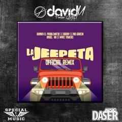 Nio Garcia X Brray X Juanka X Anuel AA X Myke Towers - La Jeepeta Remix ( David M Edit)