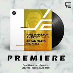 PREMIERE: Paul Hamilton, Anartist - Lights (Original Mix) [MOVEMENT RECORDINGS]