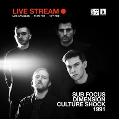 Sub Focus b2b Dimension b2b Culture Shock b2b 1991 - Bassrush x WORSHIP