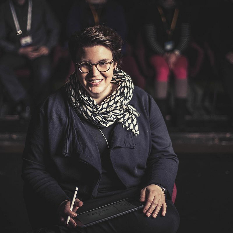 Mitä kuuluu, livekuvittaja Linda Saukko-Rauta?