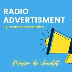 Maison de chocolat (Radio advertisement)